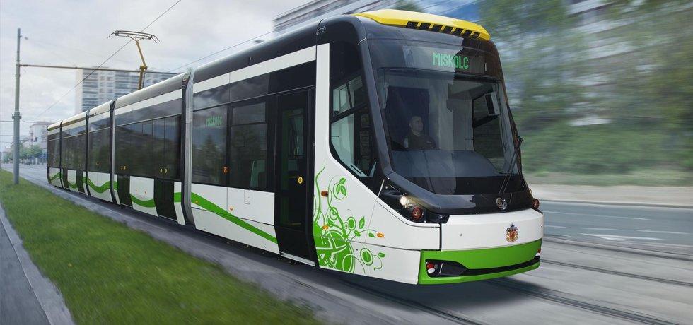 Tramvaj Škody Transportation - ilustrační foto