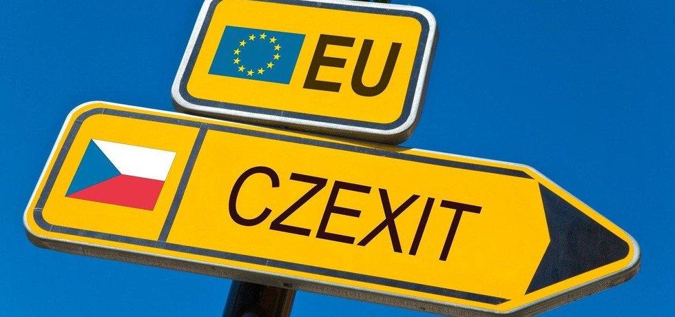 Czexit - ilustrační foto