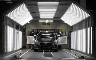 Automobilka Hyundai, ilustrační foto