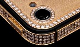 iPhone 5S ze zlata a diamantů stojí milion dolarů