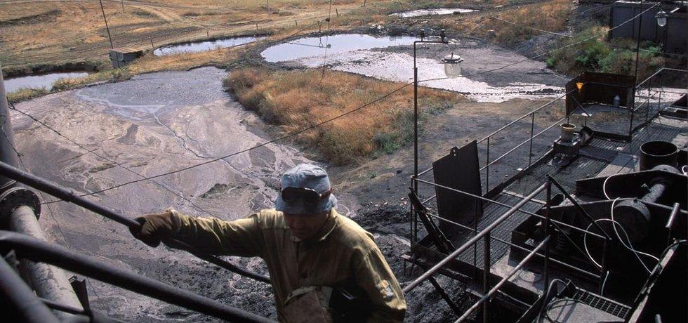 Těžba ropy v Rusku klesla