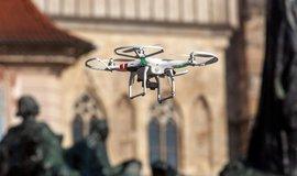 Policie chce s pomocí dronů prohledávat terén