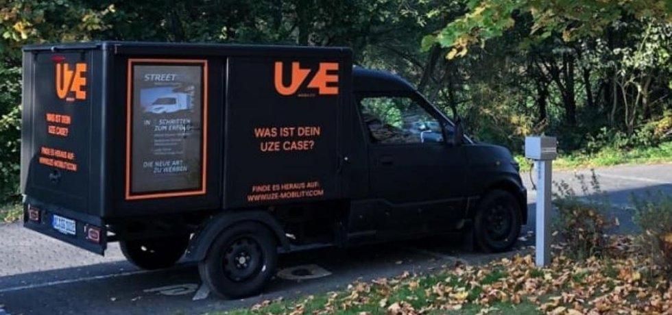 Dodávka UZE Mobility.