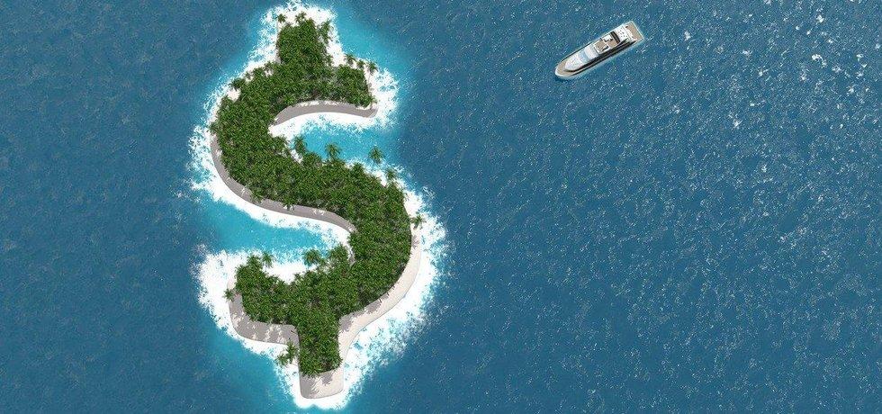 Daňový ráj, ilustrace