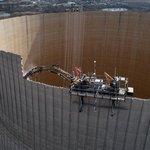 Demolice jaderné elektrárny, ilustrační foto