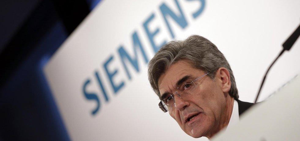Generální ředitel koncernu Siemens Joe Kaeser