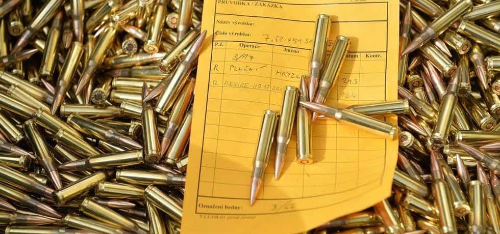 Náboje od zbrojovky Sellier & Bellot