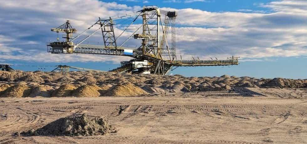 Těžba uhlí v Německu, ilustrační foto