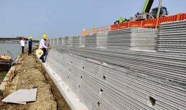 V Číně vznikla největší 3D stavba na světě: půl kilometru dlouhá zeď