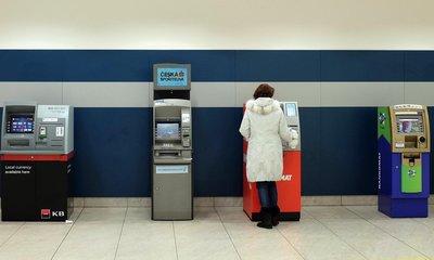 Bankomaty, ilustrační foto
