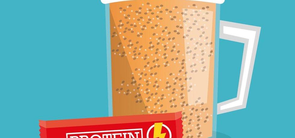 Český nápoj podle jeho výrobců nahradí stravu