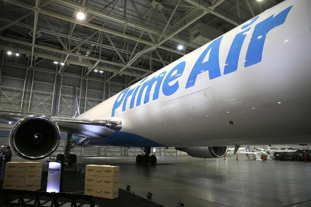 Letadlo Prime Air společnosti Amazon (Zdroj: ČTK)