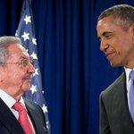 Americký prezident Barack Obama se sešel v New Yorku s kubánským vůdcem Raúlem Castrem
