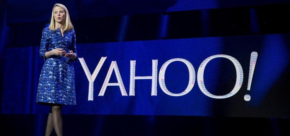 Generální ředitelka Yahoo Marissa Mayerová