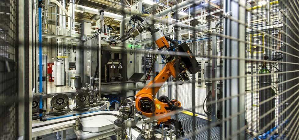 Robotická ruka, ilustrační foto