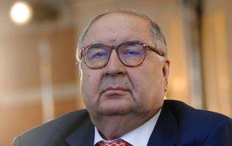 Ruský miliardář Ališer Usmanov