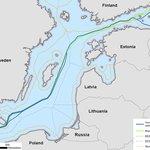 Mapa projektu Nord Stream 2