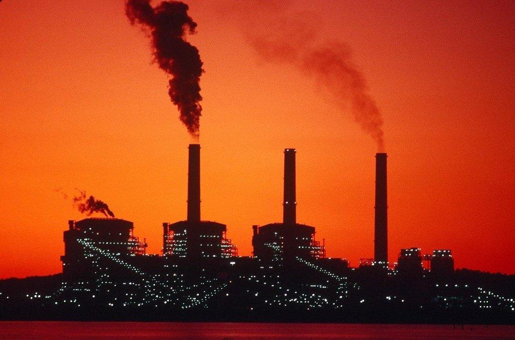 Uhelná elektrárna v Texasu, ilustrační foto