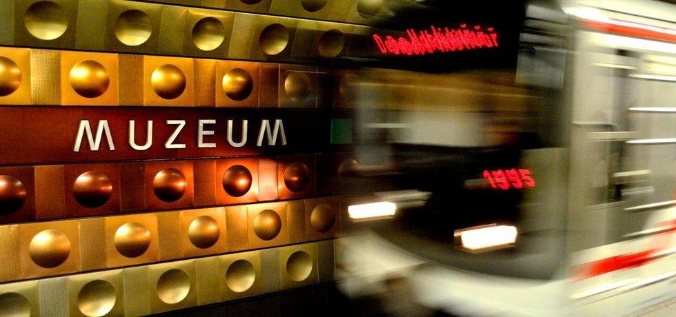 Nástupiště ve stanici metra Muzeum A bude uzavřené