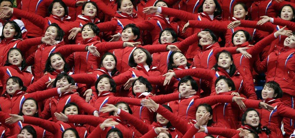 Severokorejské roztleskávačky