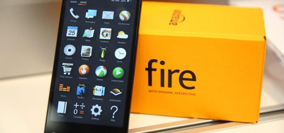 První smartphone od Amazonu propadl. Projekt Fire Phone skončil fiaskem