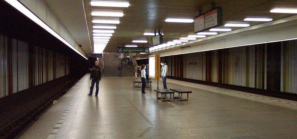 Stanice metra linky A Dejvická