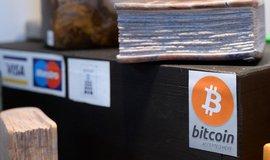 Platba bitcoiny, ilustrační foto