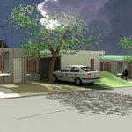 Vizualizace bydlení s energetickým jádrem NyrdenCore.