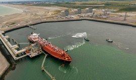 LNG terminál v Dunkerque