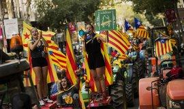 Zastánci katalánské nezávislosti, ilustrační foto
