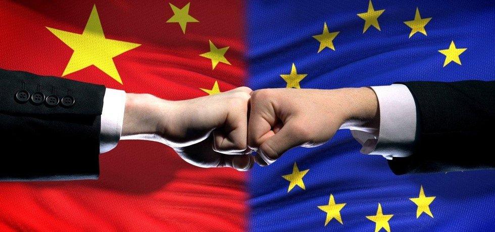 Čína a EU, ilustrační foto