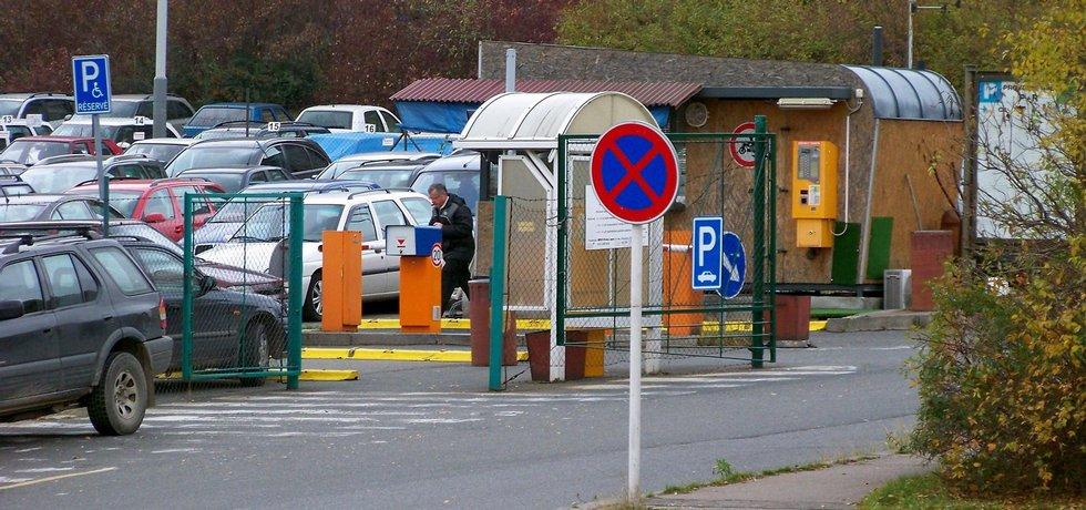 Parkoviště P+R na Opatově