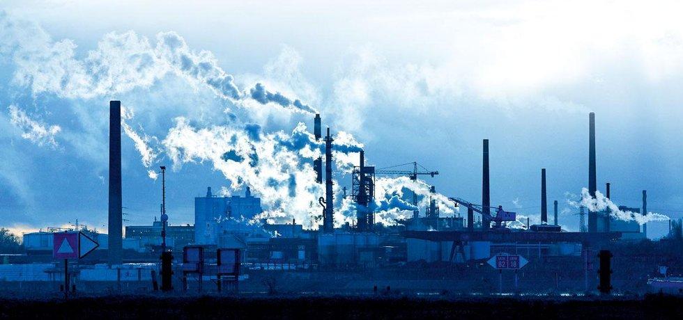 Kouřící továrna