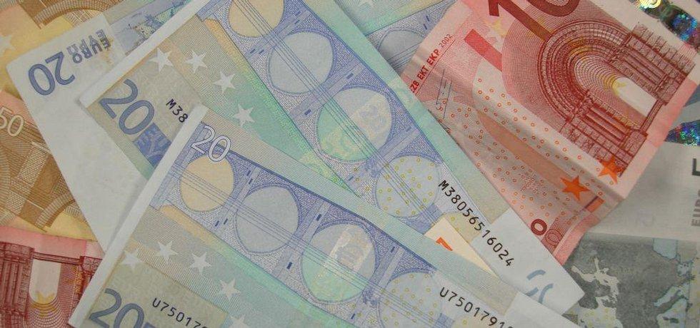 Euro - ilustrační foto
