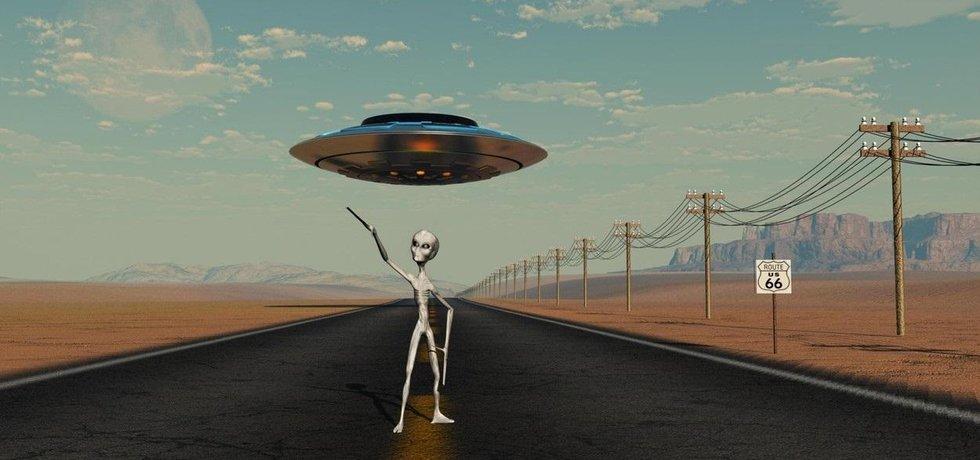 UFO, ilustrační obrázek