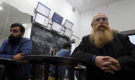 Směnárna kryptoměn v Moskvě, ilustrační foto