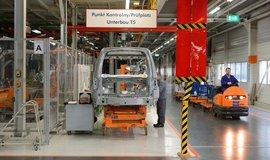 Továrna automobilky Volkswagen v polské Poznani, ilustrační foto