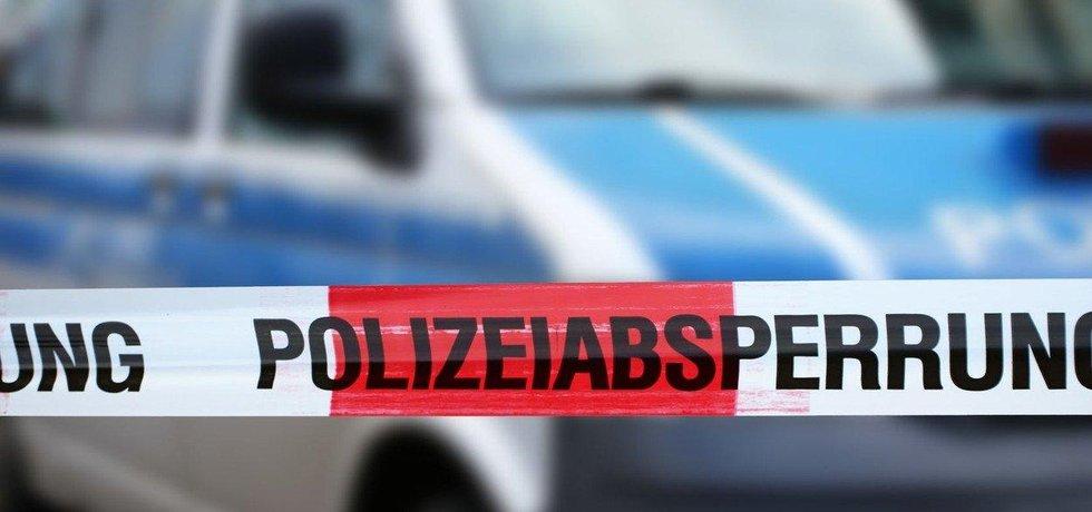 Německá policie - ilustrační foto