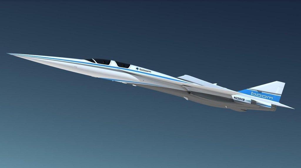 Boom Technology vyvíjí letoun XB-1. Má létat rychlostí Mach 2,2.