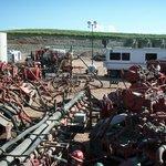 Těžba břidlicového plynu frakováním