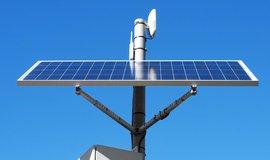 Solární panel - ilustrační foto
