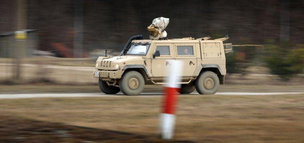Lehké obrněné vozidlo Iveco