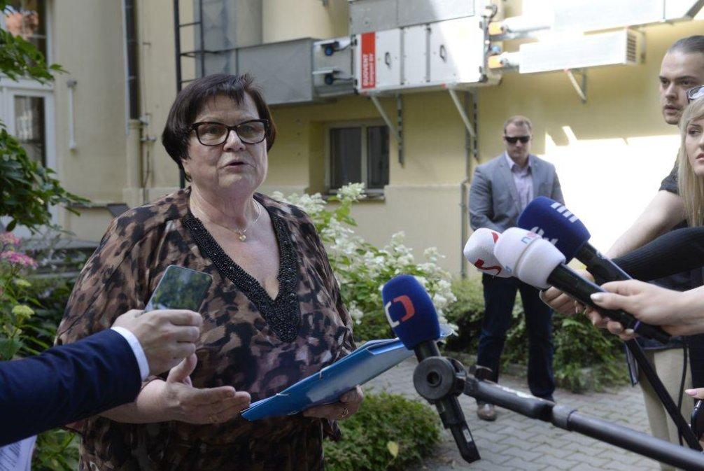 Ministryně spravedlnosti za ANO Marie Benešová
