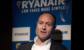 Šéf marketingu irské letecké společnosti Ryanair Kenny Jacobs