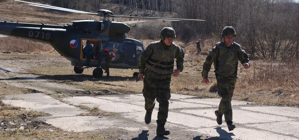 Česká armáda pořizuje helmy z Chorvatska