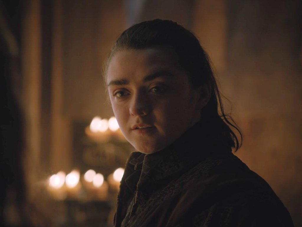 Arya Stark - naživu