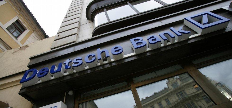 Budova Deutsche Bank v Jungmannově ulici na Praze