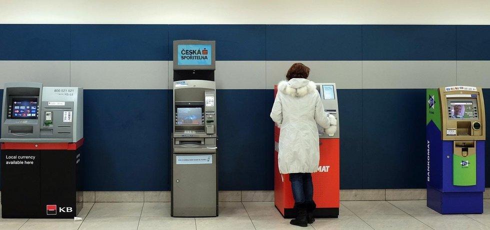 Bankomaty - ilustrační foto