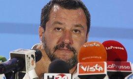 Matteo Salvini, lídr italské strany Liga