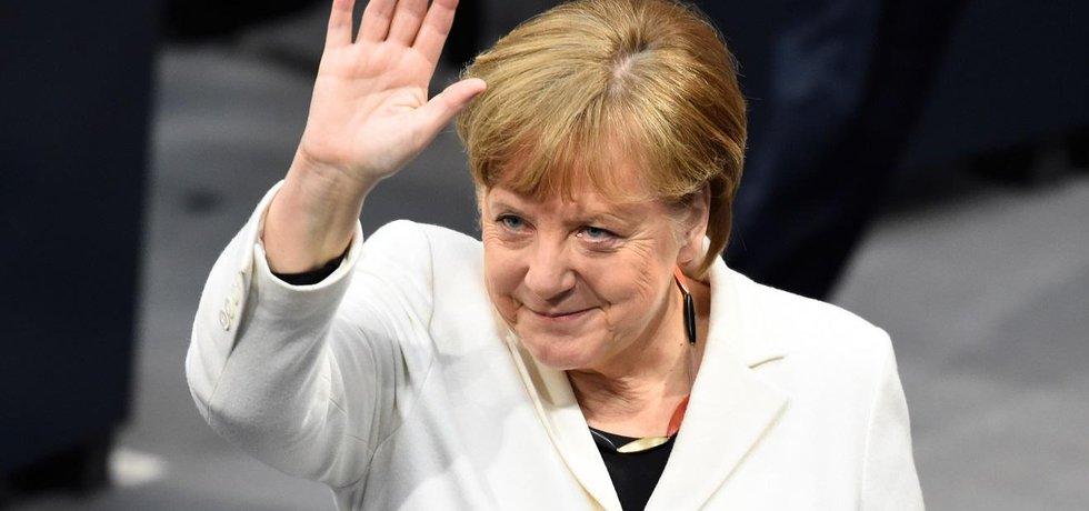 Angela Merkelová byla počtvrté v řadě zvolena německou kancléřkou